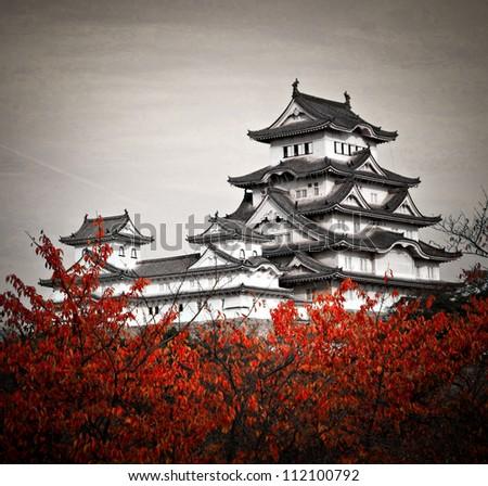 Himeji Castle - stock photo