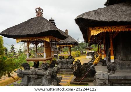 Hindu temple, Besakih, Bali, Indonesia, - stock photo