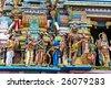 Hindu Temple in Colombo, Sri Lanka - stock photo