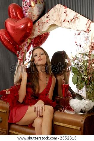 His Valentine - stock photo
