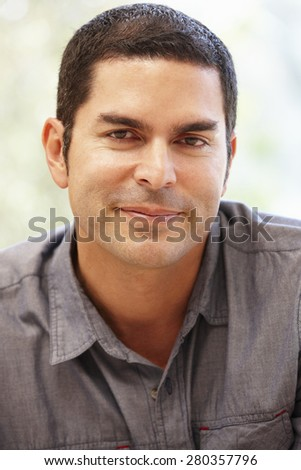 Hispanic man portrait