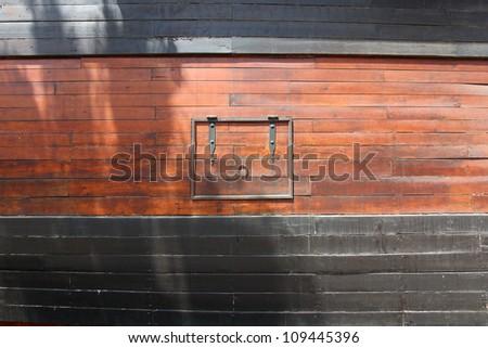 Historic and famous Spanish galleon Santisima Trinidad - stock photo