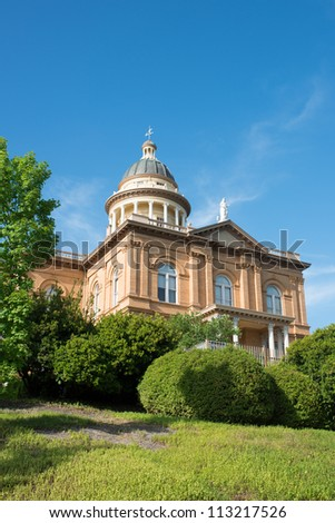 Historic Auburn Courthouse - stock photo