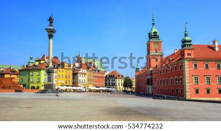 Historic Center of Warsaw, Poland, is UNESCO World Heritage Site