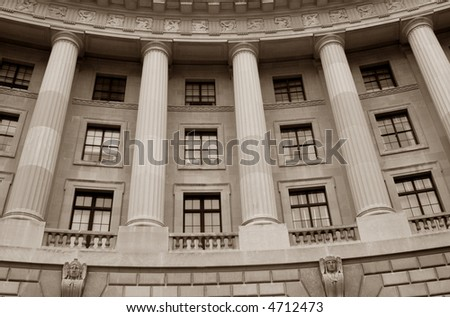 Historic Government Building - stock photo
