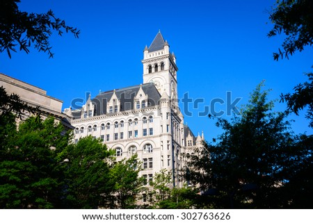 Historic Old Post Office Tower - stock photo