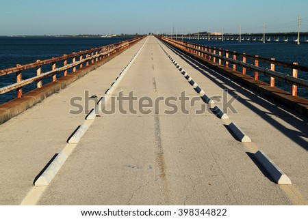 Historic Seven Mile Bridge, Pigeon Key State Park, Florida Keys
