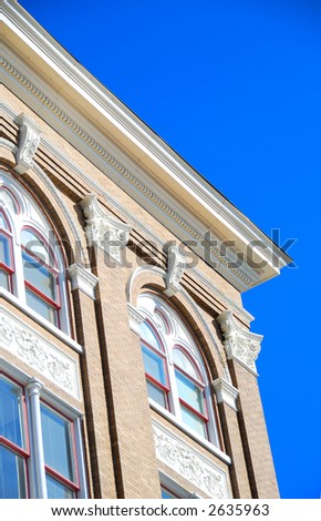 Historic Southern Building - stock photo