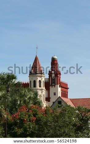 Historic St. Augustine Florida - stock photo