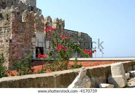 Historical  fortress Saint Peter - stock photo