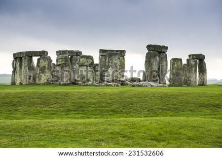 Historical monument of Stonehenge, England, UK.