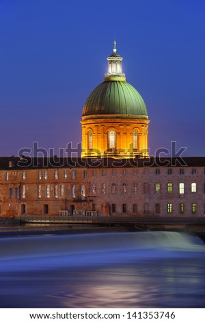 historical monument of the city of Toulouse, France - stock photo