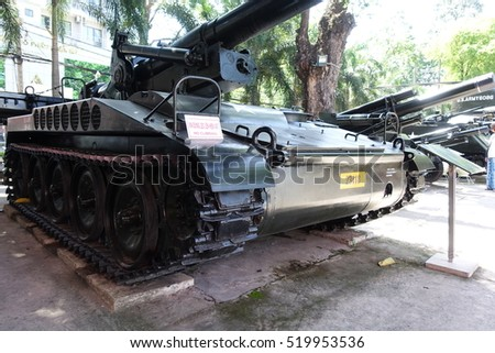 Ho Chi Minh City - 1 Jul: War Remnants Museum in Ho Chi Minh City, Vietnam on 1 July 2016
