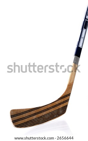hockey stick - stock photo