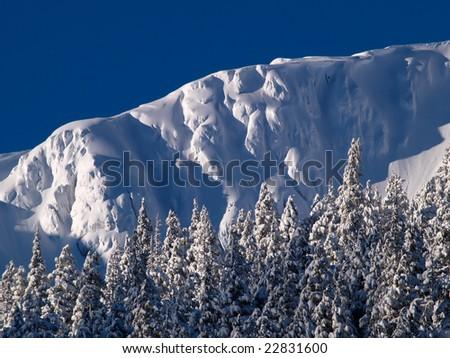 Hogsback Ridge - stock photo