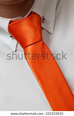 Holiday attire groom at a wedding. - stock photo