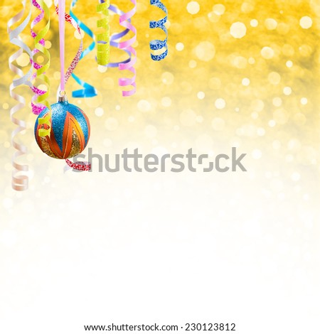 Holiday background for Christmas and New Year