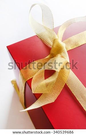 holiday gift - stock photo