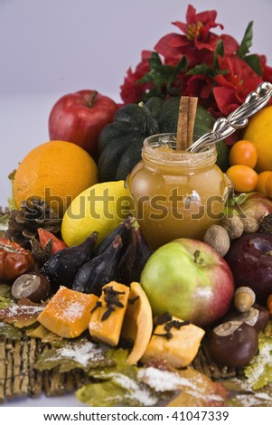 Holiday Harvest - stock photo