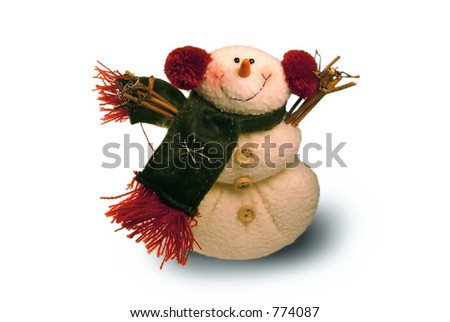 Holiday Hug - stock photo