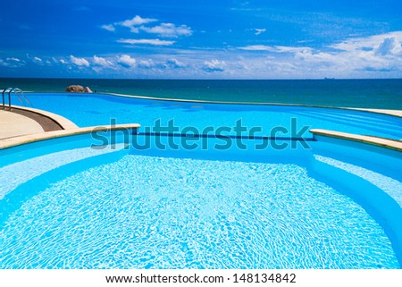 Holiday Lifestyle Romantic Villa  - stock photo