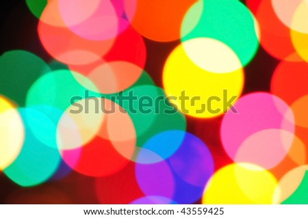 holiday lighting background