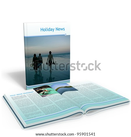 Holiday News - stock photo