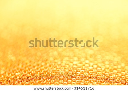 Holiday soft luxury golden background - stock photo
