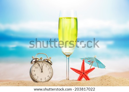 Holiday  summer concept - stock photo