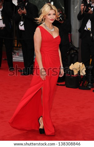 Holly Willoughby arriving for the TV BAFTA Awards 2013, Royal Festival Hall, London. 12/05/2013