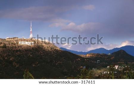 Hollywood - stock photo