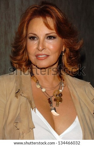 "HOLLYWOOD - AUGUST 01: Raquel Welch at the Los Angeles Premiere of ""Boynton Beach Club"" at Pacific Design Center on August 01, 2006 in West Hollywood, CA."