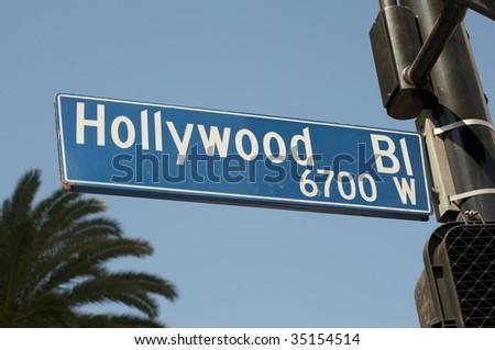 Hollywood Boulevard - stock photo
