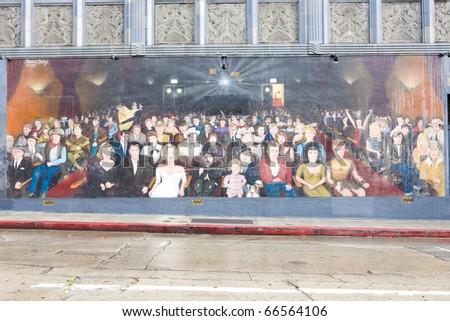 Hollywood Boulevard, Los Angeles, California, USA - stock photo