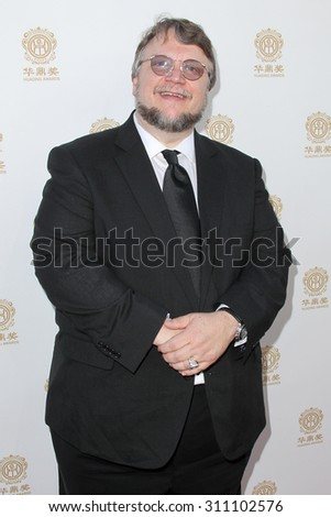 HOLLYWOOD, CA-JUN 1: Director Guillermo del Toro attends the 2014 Huading Film Awards at The Montalban on June 1, 2014 in Hollywood, California. - stock photo