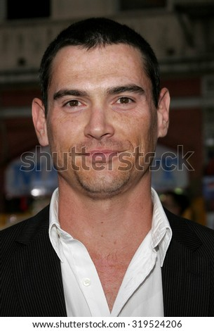 HOLLYWOOD, CA - MAY 04, 2006: Billy Crudup at the Los Angeles premiere of 'Mission: Impossible 3' held at the Grauman's Chinese Theatre in Hollywood, USA on May 4, 2006. - stock photo