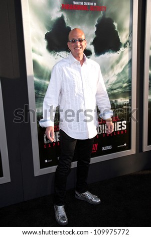 HOLLYWOOD, CA - MAY 23: David Kracor arrives at the Special Fan Screening of Chernobyl Diaries at the Cinerama Dome on May 23, 2012 in Hollywood, California.
