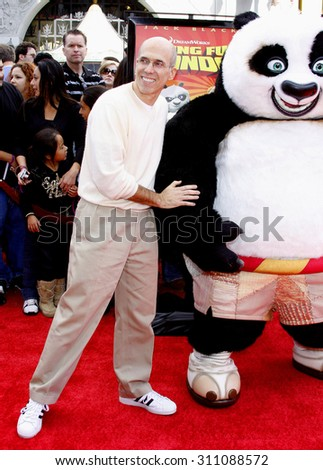 HOLLYWOOD, CA - NOVEMBER 09, 2008: Jeffrey Katzenberg at the Los Angeles premiere of 'Secrets of the Furious Five' held at the Grauman's Chinese Theater in Hollywood, USA on November 9, 2008. - stock photo