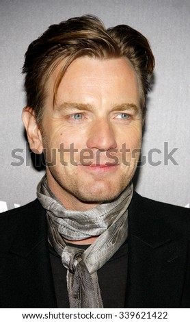 "HOLLYWOOD, CALIFORNIA - January 5, 2012. Ewan McGregor at the Los Angeles premiere of ""Haywire"" held at the DGA Theater, Los Angeles."
