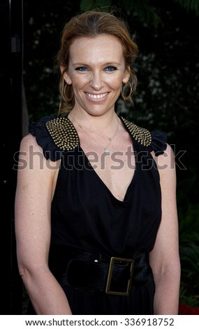 "HOLLYWOOD, CALIFORNIA - July 20, 2009. Toni Collette at the World Premiere of ""Funny People"" held at the ArcLight Theater, Hollywood."