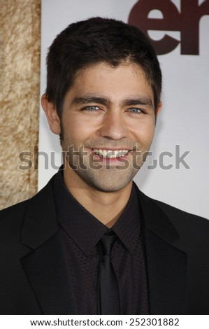"""HOLLYWOOD, CALIFORNIA - June 16, 2010. Adrian Grenier at the Season 7 premiere of """"Entourage"""" held at the Paramount Pictures Studios, Hollywood.  - stock photo"""