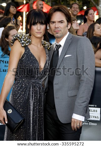 "HOLLYWOOD, CALIFORNIA - June 24, 2010. Billy Burke at the ""The Twilight Saga: Eclipse"" Los Angeles premiere held at the Nokia Live Theater, Los Angeles.   - stock photo"