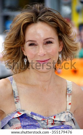 "HOLLYWOOD, CALIFORNIA - June 12, 2011. Jennifer Grey at the Los Angeles premiere of ""Mr. Popper's Penguins"" held at the Grauman's Chinese Theatre, Los Angeles."