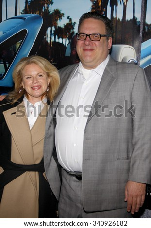 """HOLLYWOOD, CALIFORNIA - March 22, 2011. Jeff Garlin at the Los Angeles premiere of """"His Way"""" held at the Paramount Studios, Los Angeles.  - stock photo"""