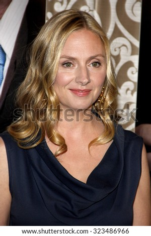 HOLLYWOOD, CALIFORNIA - May 18, 2010. Hope Davis at the Los Angeles premiere of 'The Special Relationship' held at the Director's Guild of America in Hollywood.