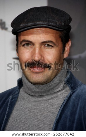 "HOLLYWOOD, CALIFORNIA - Monday March 7, 2011. Billy Zane at the Los Angeles premiere of ""Red Riding Hood"" held at the Grauman's Chinese Theater, Los Angeles.  - stock photo"