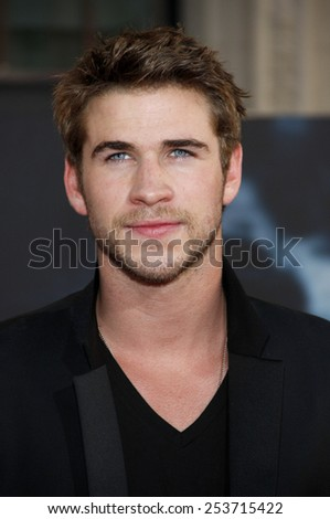 "HOLLYWOOD, CALIFORNIA - Monday May 2, 2011. Liam Hemsworth at the Los Angeles premiere of ""Thor"" held at the El Capitan Theater in Los Angeles."