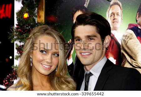 "HOLLYWOOD, CALIFORNIA - November 2, 2011. Melissa Ordway at the Los Angeles premiere of ""A Very Harold & Kumar 3D Christmas"" held at Grauman's Chinese Theater, Los Angeles. - stock photo"