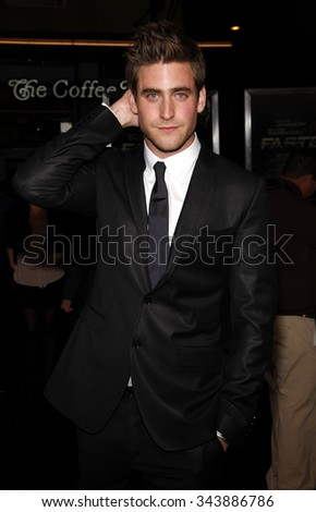 "HOLLYWOOD, CALIFORNIA - November 22, 2010. Oliver Jackson-Cohen at the Los Angeles premiere of ""Faster"" held at the Grauman's Chinese Theater, Los Angeles."