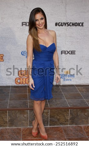 "HOLLYWOOD, CALIFORNIA - Sunday June 6, 2011. Minka Kelly at the Spike TV's 5th Annual 2011 ""Guys Choice"" Awards held at the Sony Pictures Studios, Los Angeles."